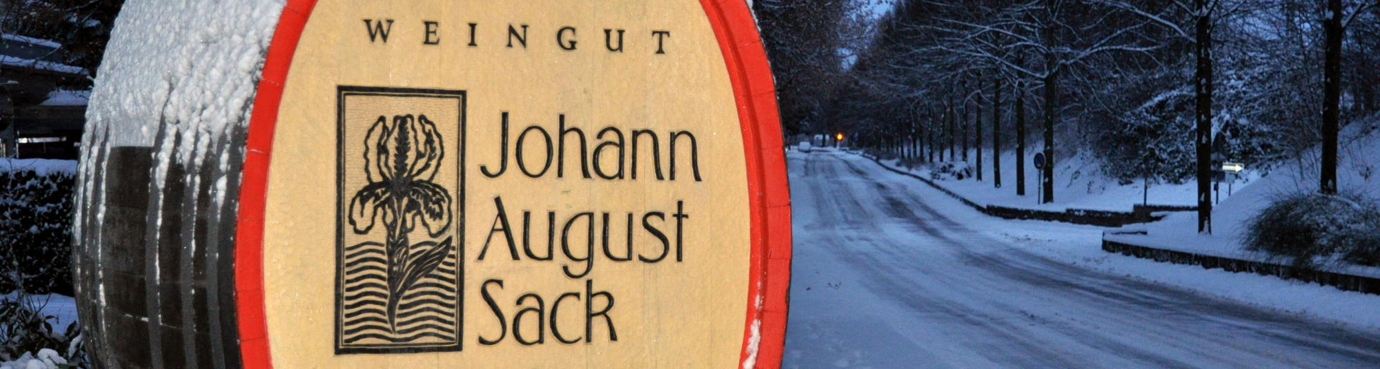 Weingut Johann August Sack - Winter 1