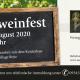Banner Hofweinfest - Weingut Sack Lauda